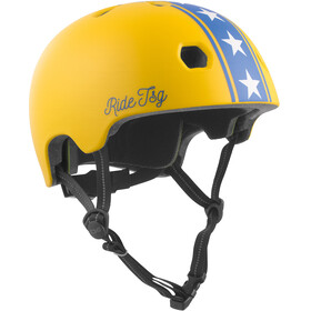 TSG Meta Graphic Design casco per bici giallo
